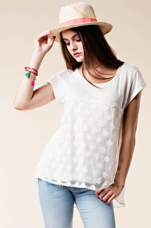 Felicity Lace Top