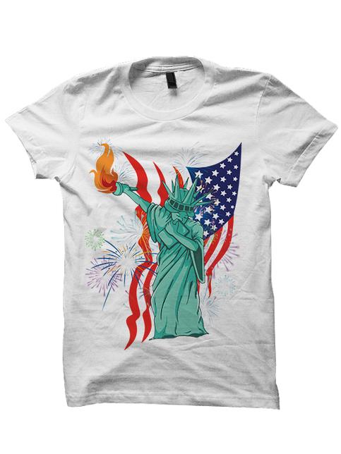 July 4th T Shirt Dabbin 39 Statue Of Liberty Shirt Funny T