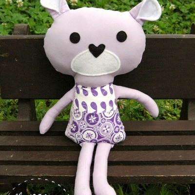 Mini patchy bear - lala
