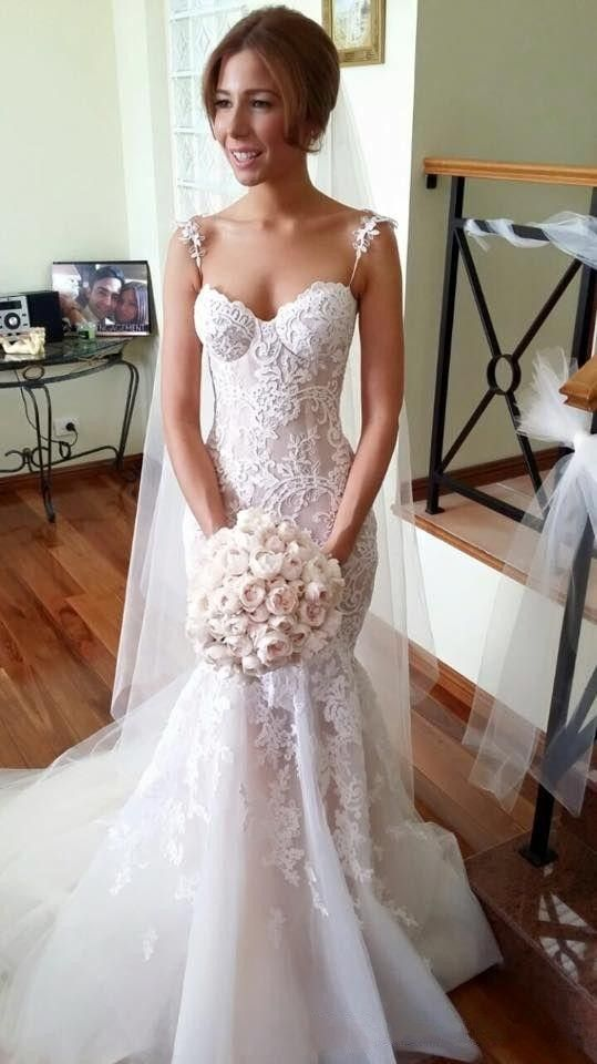 Wedding dresses,bridal gown,lace wedding dress,mermaid bridal gown ...