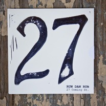 "Run Dan Run, ""27 Coming St."" CD"