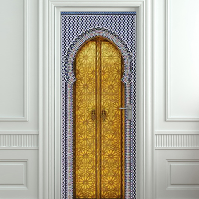 Door wall stickers pulaton online store powered by for Door wall mural