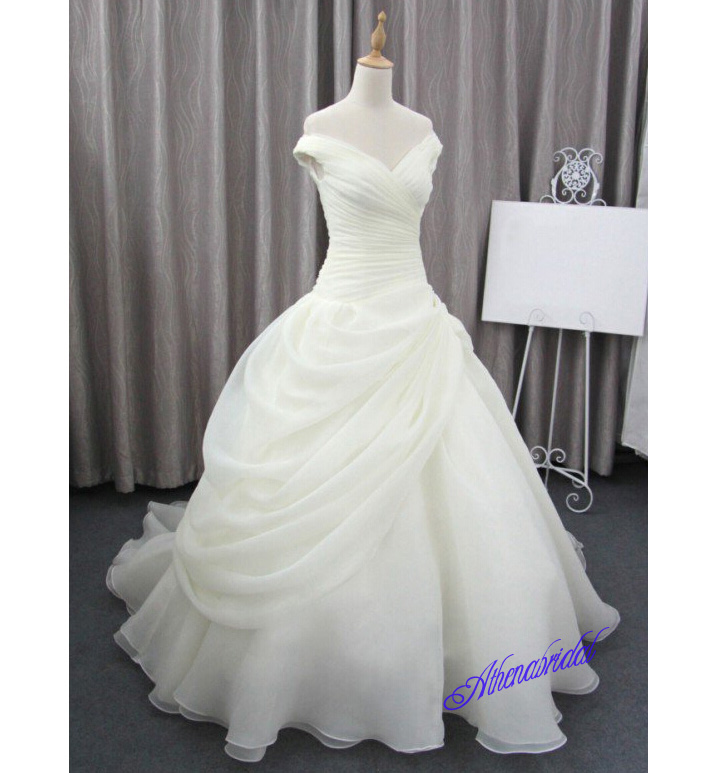 Simple Princess Wedding Dresses