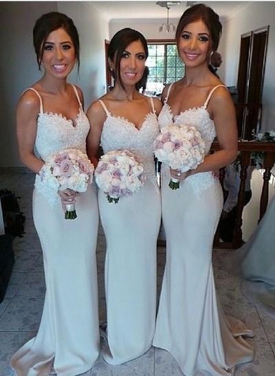 Lace Prom Dress,Spaghetti Straps Prom Dress, Bridesmaid Dress,BD008 ...
