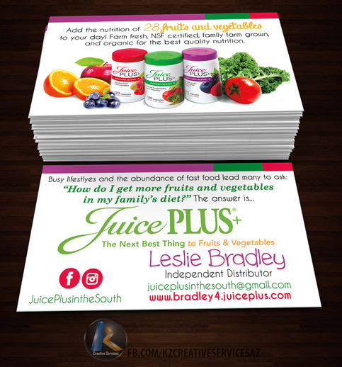 juicy plus business cards style 1  u00b7 kz creative services