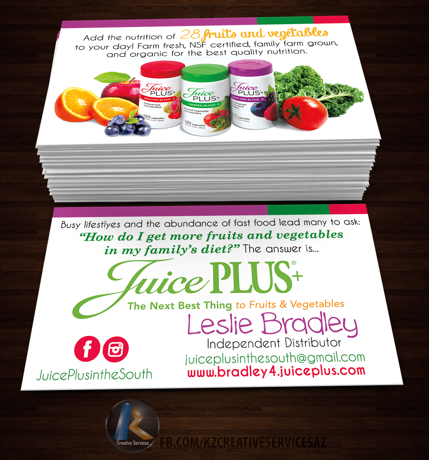 Juicy plus business cards style 1 kz creative services online juicy plus business cards style 1 colourmoves