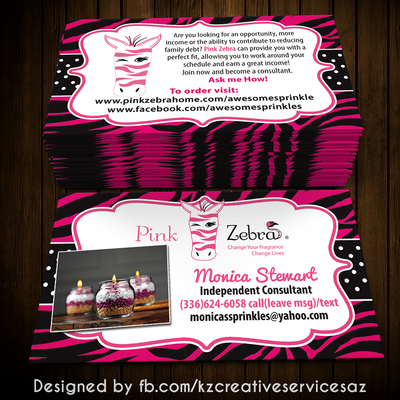 Pink zebra business cards style 3 kz creative services online pink zebra business cards style 3 kz creative services online store powered by storenvy colourmoves