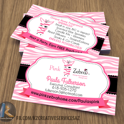 Pink zebra business cards style 4 kz creative services online pink zebra business cards style 4 kz creative services online store powered by storenvy colourmoves