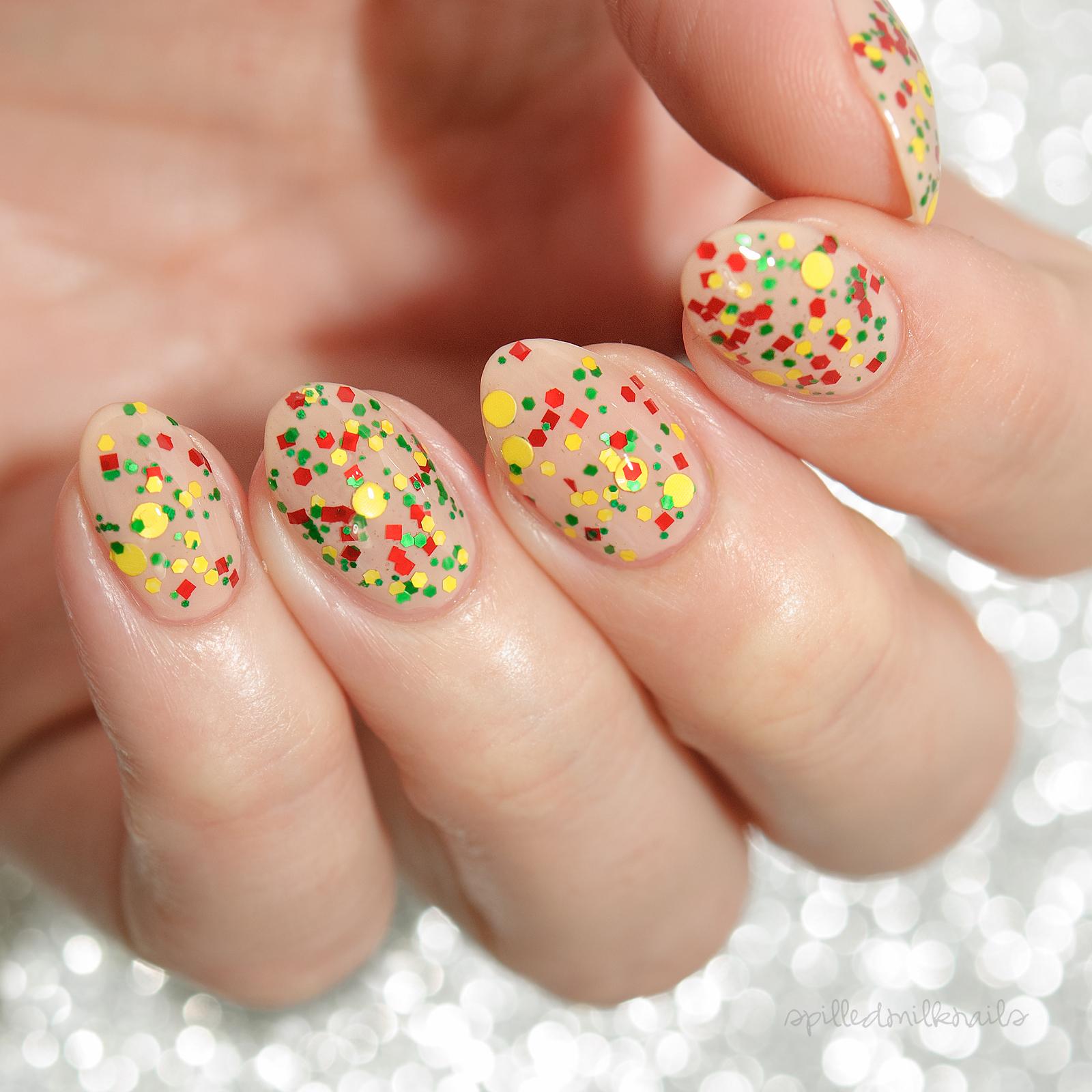 Jamaica - custom Summer Destinations scented nail polish glitter ...