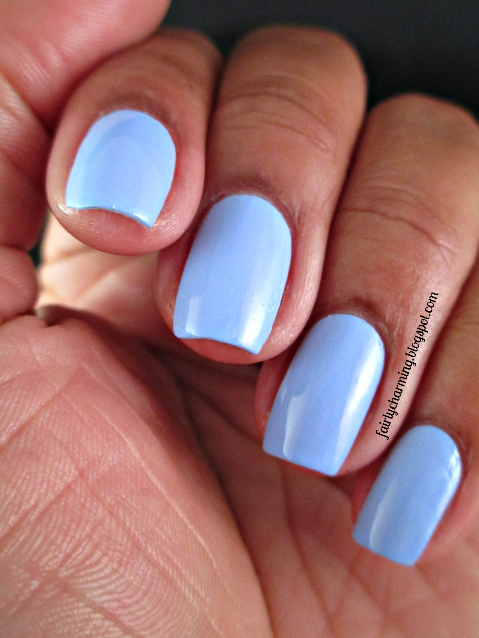 Mediterranean Sky - Faded Sky Blue Creme Nail Polish · Spellbound ...