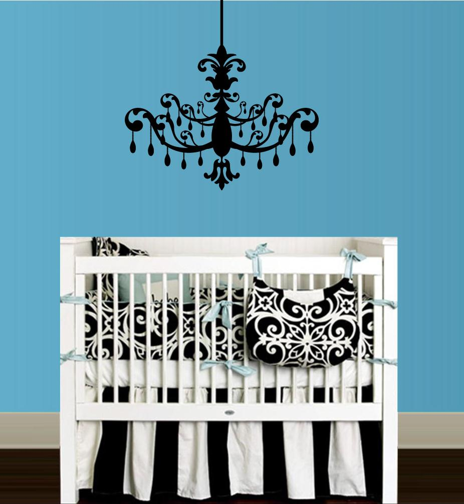 Chandelier Wall Decal   Thumbnail 1 ...