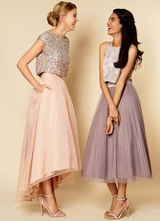 long prom dress, sequin bridesmaid dress, cap sleeve prom dress ...