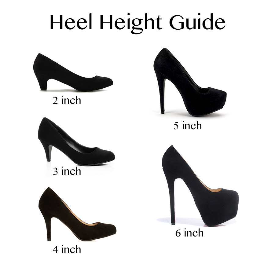 2 Inch Purple Heels
