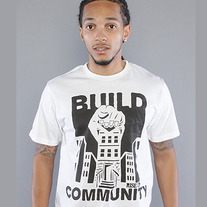 Build Community Men's Tee - White