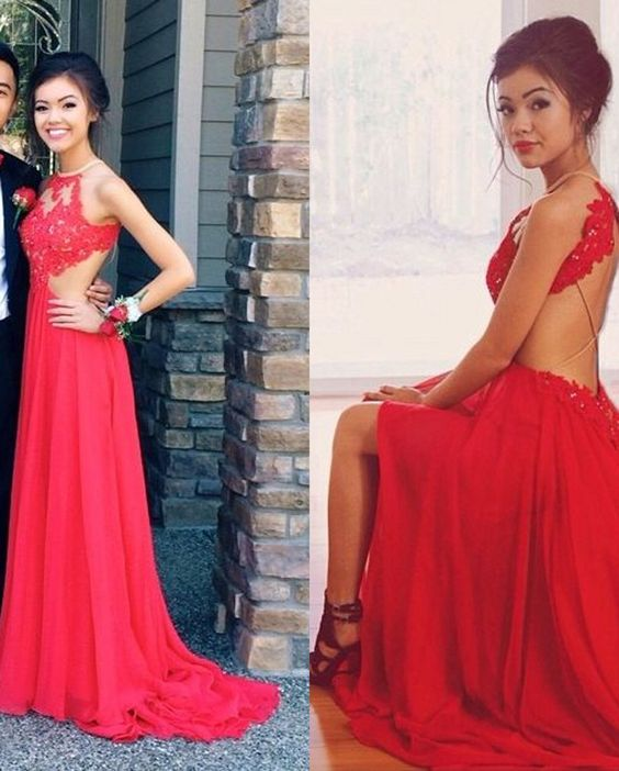 Prom Dress,Evening Gowns for Weddings Halter Prom Dresses Backless ...