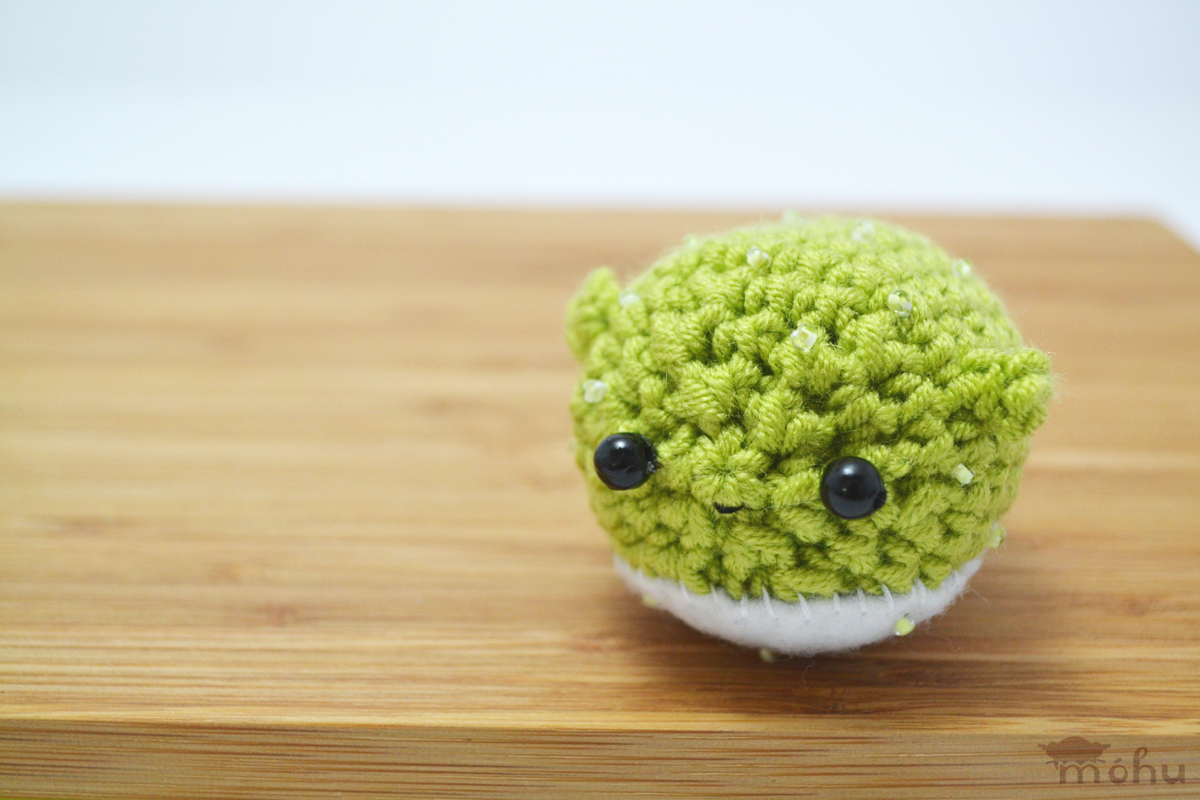 Amigurumi Puffer Fish : green blowfish crochet amigurumi from mohu on Storenvy ...