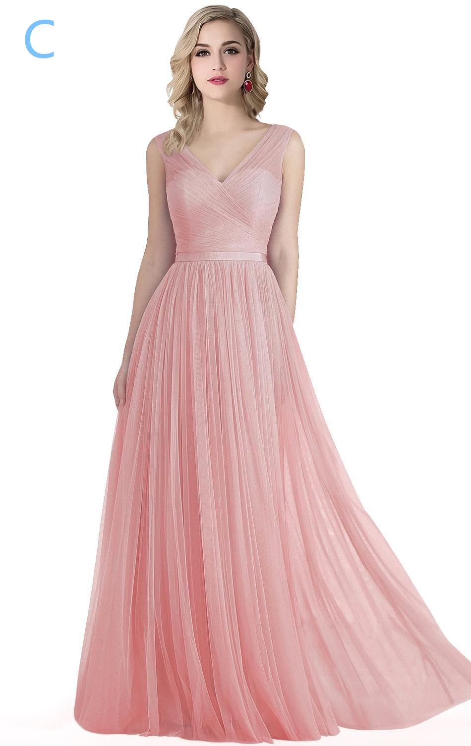 Shop our stunning new arrival bridesmaid dresses collection offered at an affordable price today! Surplice Tank Long Chiffon Bridesmaid Dress. F 45 colors Added to your favorites! NEW. White by Vera Wang. Crepe and Tulle T-Back Bridesmaid Dress. VW