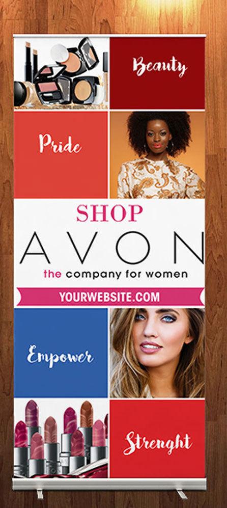 Avon Retractable Banner 2 183 Kz Creative Services