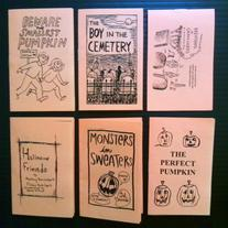 TRICK OR TREAT COMICS set #1 by Trees & Hills