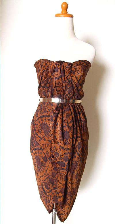 Indonesian Batik Dress, Long Skirt, Beach Wear, Multifunction · SOKA ...