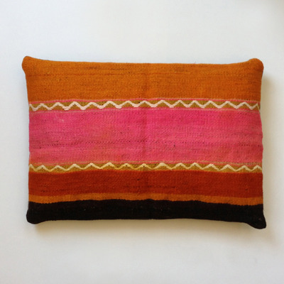 Kilim pillow cover (striped)