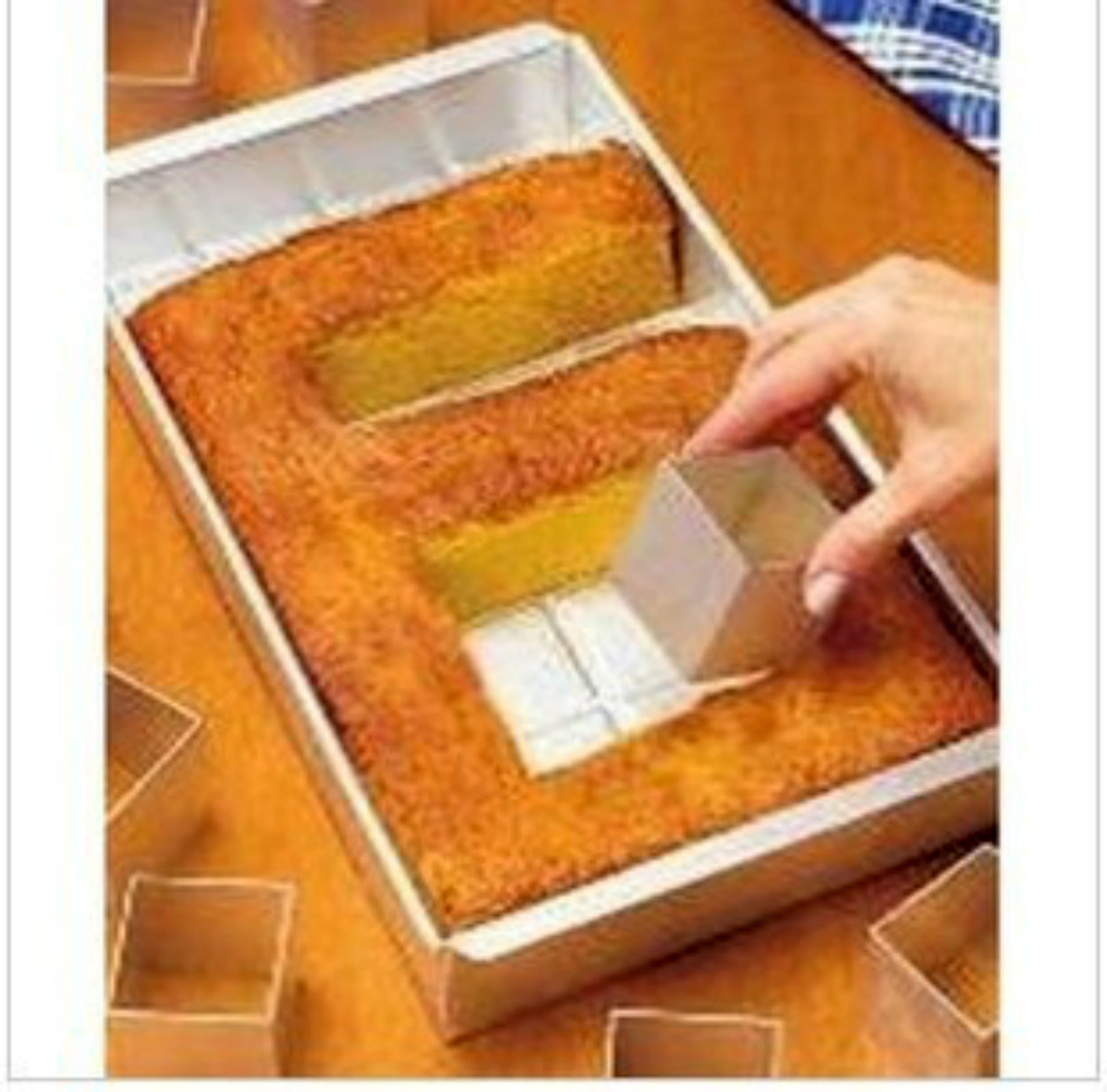 Letter Cake Pan Rectangular Shape Set Can Make Different