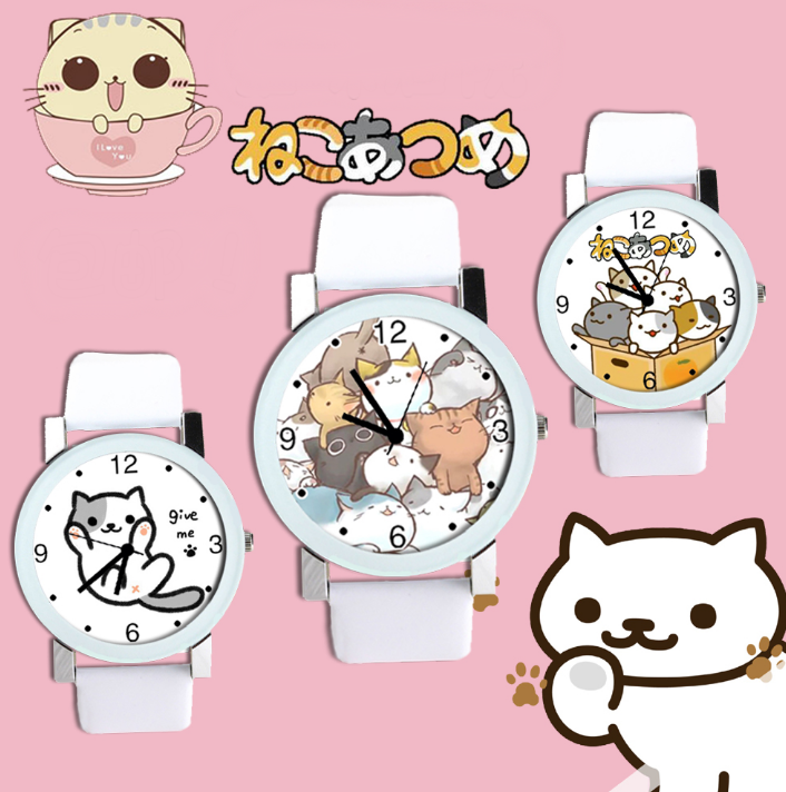 cute neko atsume cat watch moooh online store powered by storenvy