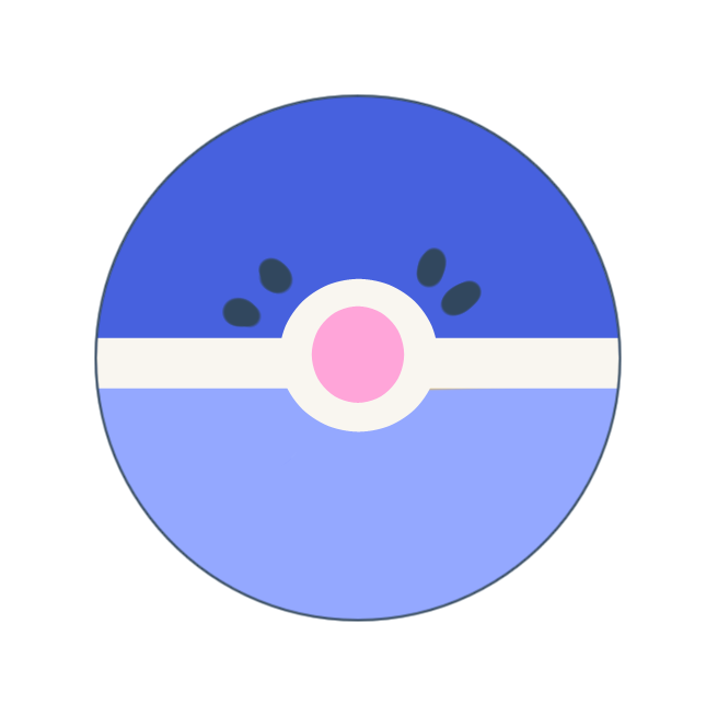 Pokemon Sun And Moon Popplio Button Paper Mint Ink Online Store