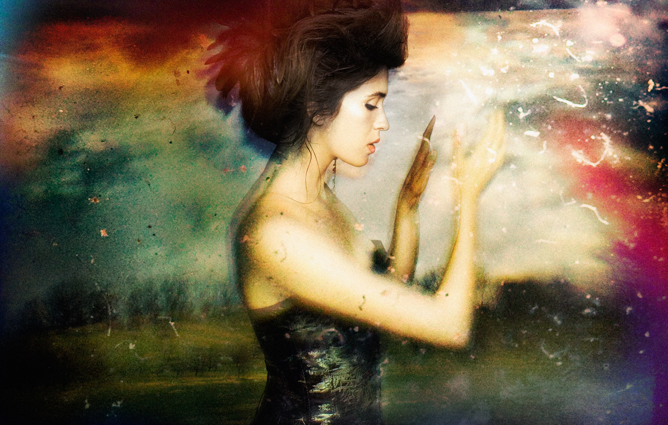 """Imogen Heap."" photographed by Jeremy Cowart"