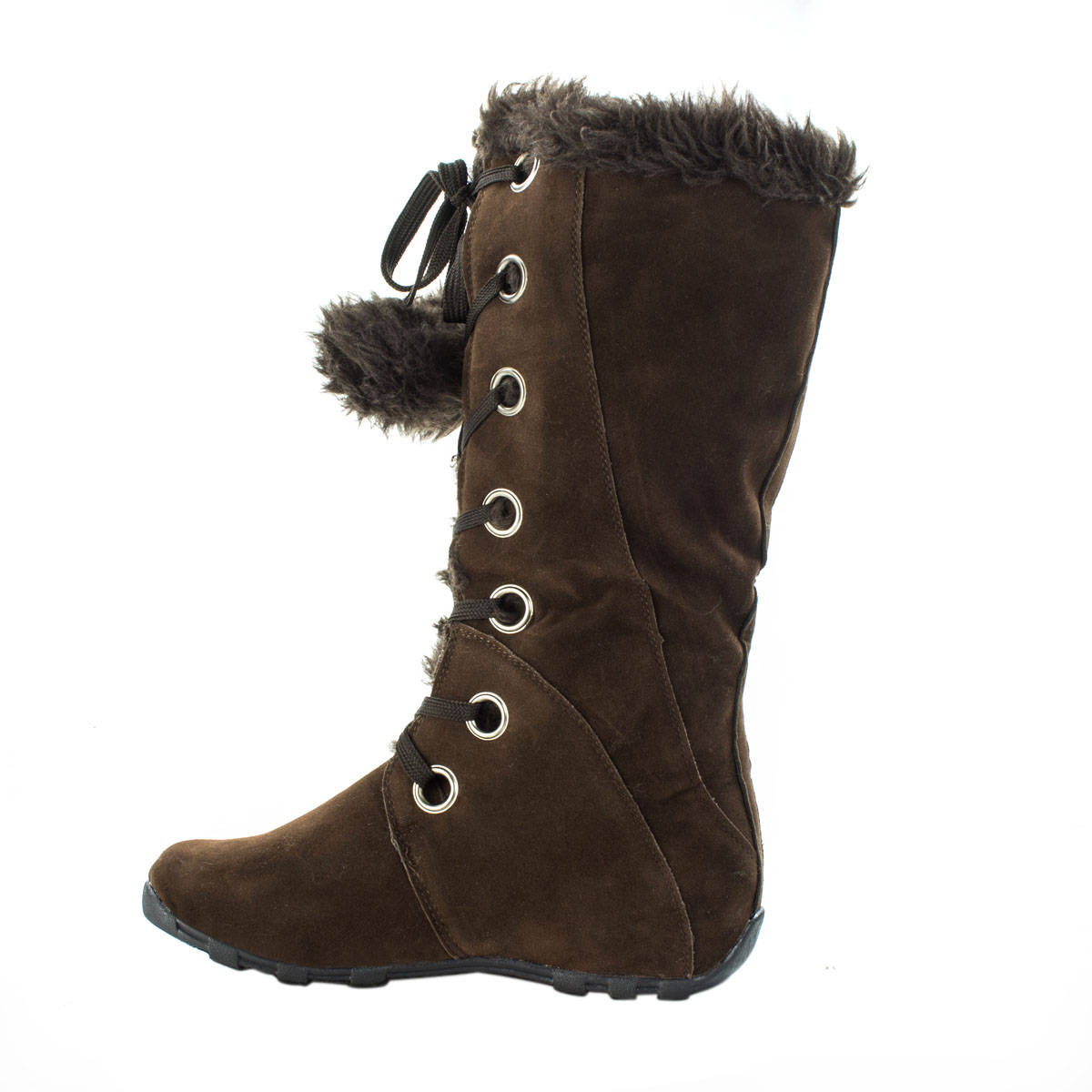 Quot Mary Quot Pom Pom Fur Winter Boots 183 Sophisticates Closet 183 Online Store Powered By Storenvy