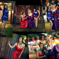 Set of 5 FF7 Wallmarket Cosplay Prints medium photo