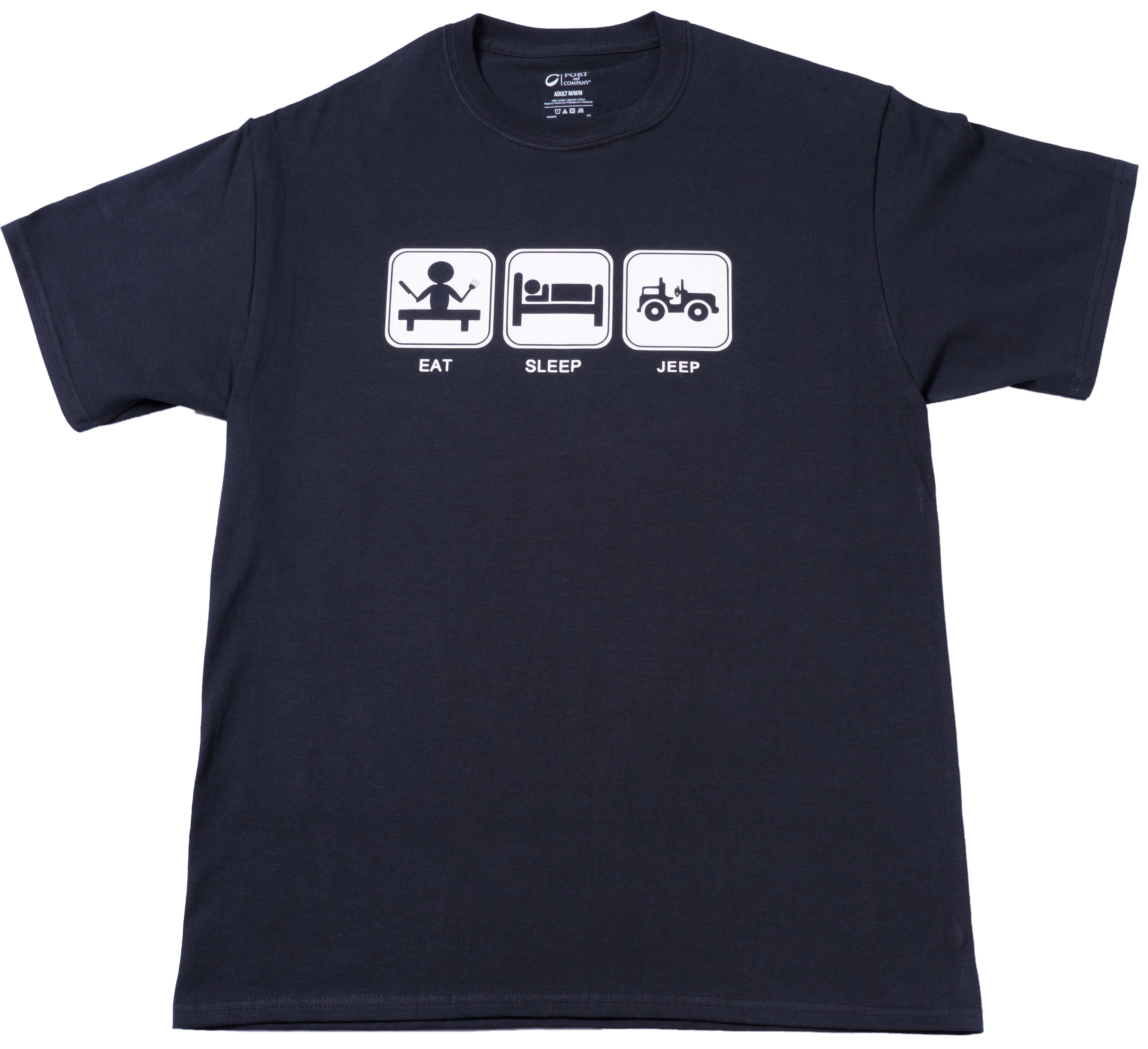 Eat Sleep Jeep T-Shirt · Top Notch Custom Apparel · Online Store
