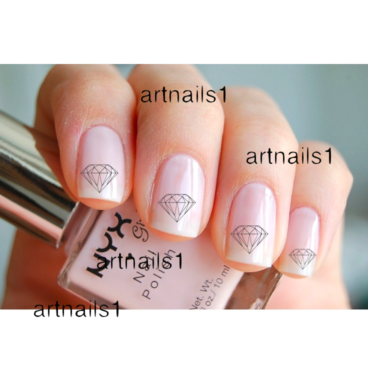 Diamond Nail Art Nails Polish Manicure Cosplay Costume Mani Pedi ...