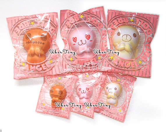 ibloom mini breaddoll angel squishy  scented   u00b7 uber tiny  u00b7 online store powered by storenvy