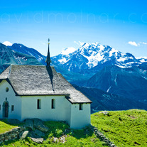 C037 Swiss Alps Church