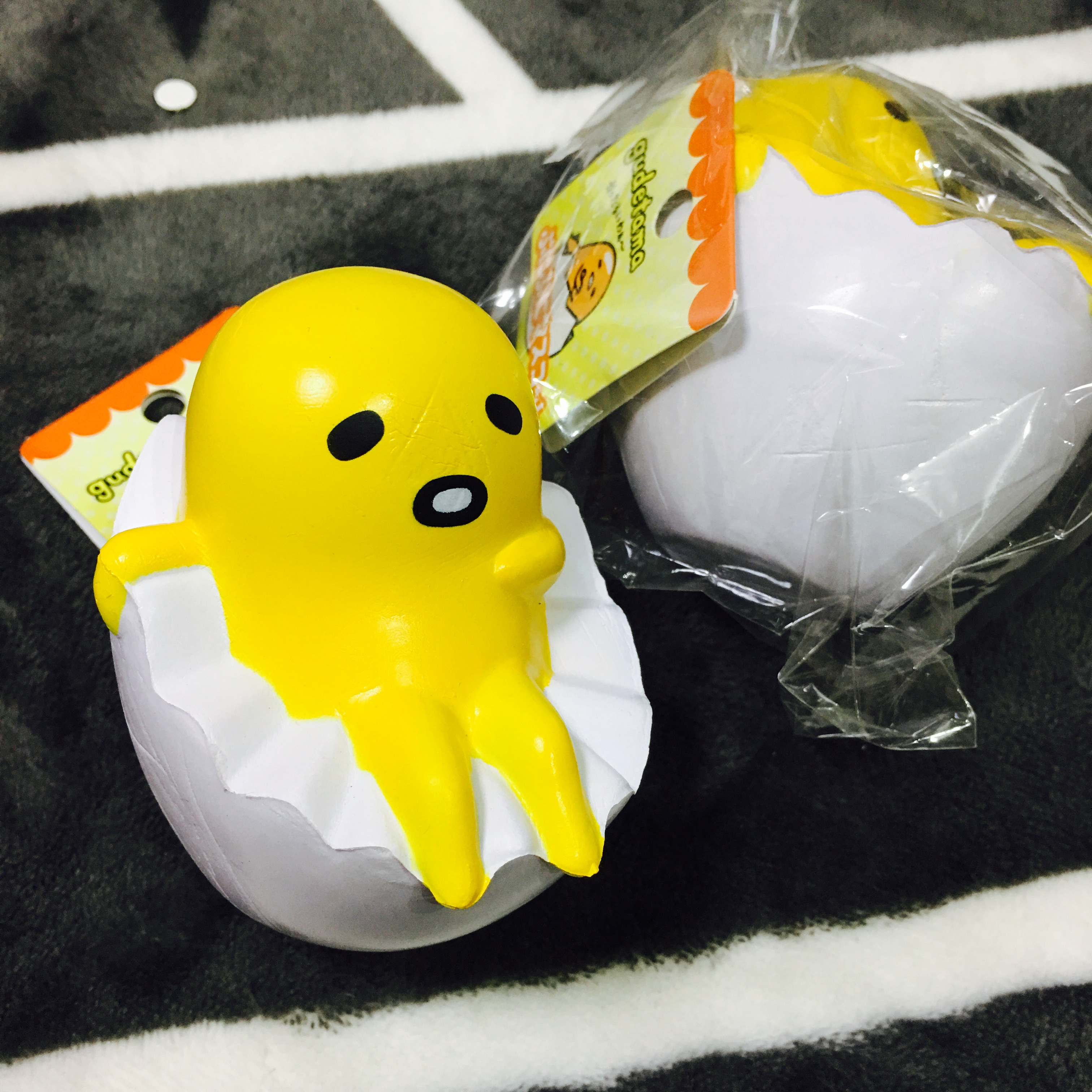 Squishy Muffinz Merch : ~SquishyStuff~ Sanrio Gudetama Egg Squishy Mascot Online Store Powered by Storenvy