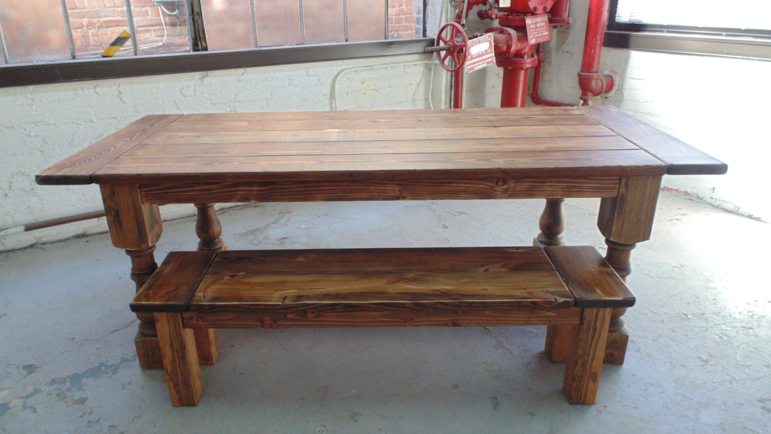 Talbot Dining Table  Farmhouse  Reclaimed Wood  Custom  Handcrafted   Handmade  Made  Talbot Dining Table  Farmhouse  Reclaimed Wood  Custom  . Farmhouse Dining Table Made In Usa. Home Design Ideas