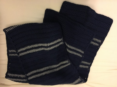 Ravenclaw Scarf V2 Park Avenue Yarnworks Online Store Powered By