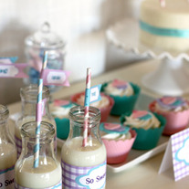 Full Collection - Cupcake Party Printables