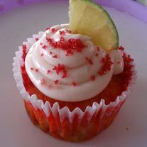 mini Strawberry Margarita Cupcakes (24)