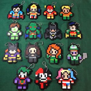 DC characters (keychain)