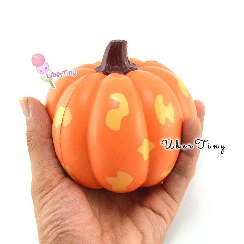 Kiibru Jumbo Pumpkin Squishy (super soft!) ? Uber Tiny ? Online Store Powered by Storenvy