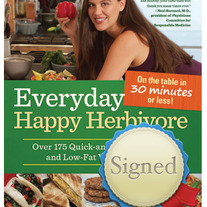 Signed Everyday Happy Herbivore Cookbook