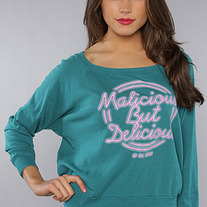 The Neon Sign Long Sleeve Tee in Evergreen