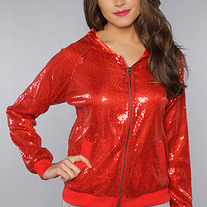 The Showstopper Jacket in Red