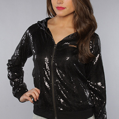 The showstopper jacket in black