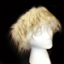 Russian Wolf Faux Fur Headband