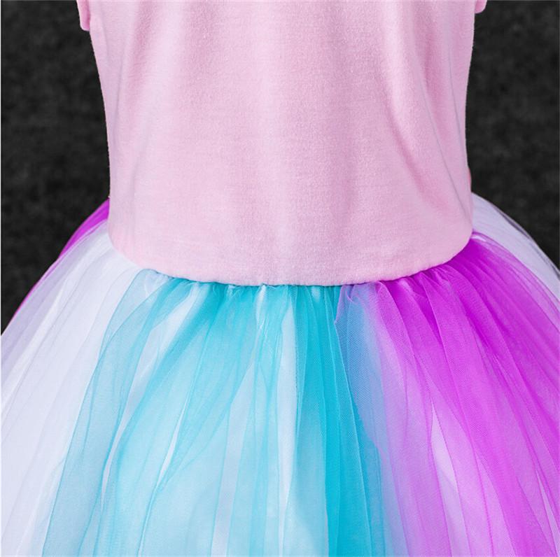New Pink My Little Pony Costume Toddler Girls Rainbow Dash Girls ...