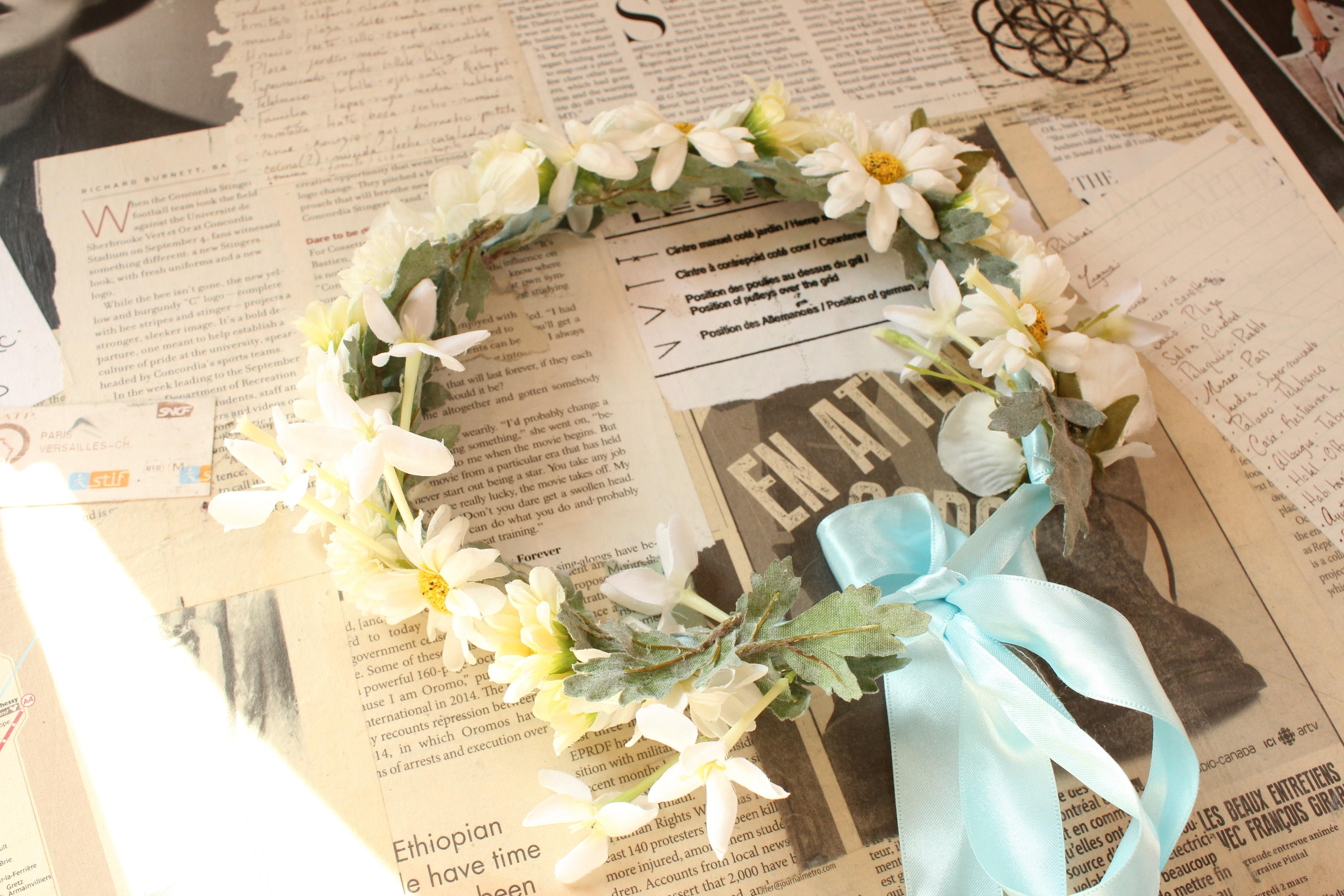 Triple Fortune Flower Crown Marie Antoinette Sales Online Store