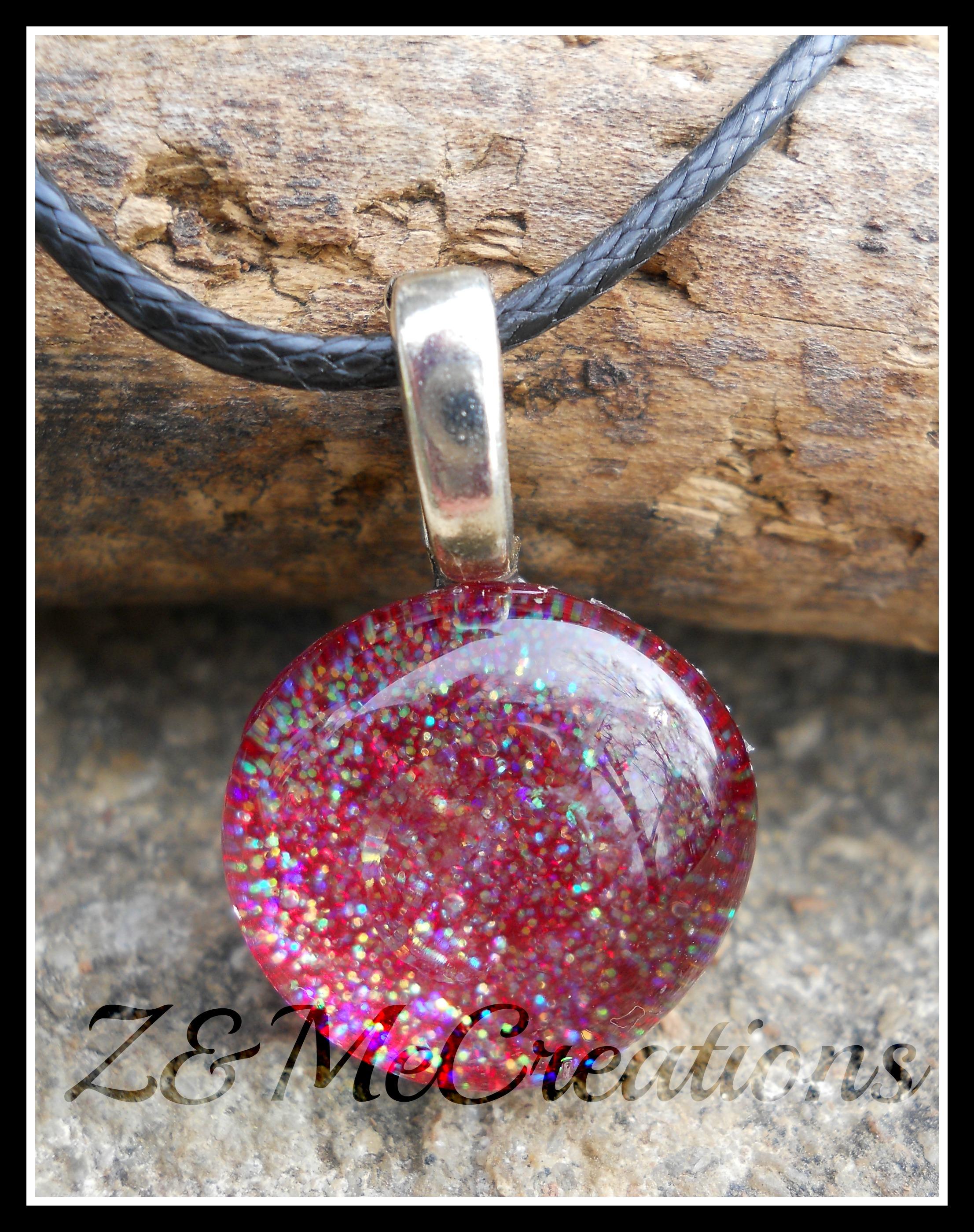 Fairy pebble sparkle pendant necklace redooak znmecreations fairy pebble sparkle pendant necklace redooak aloadofball Image collections